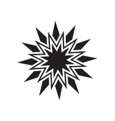 Black star icon vector image