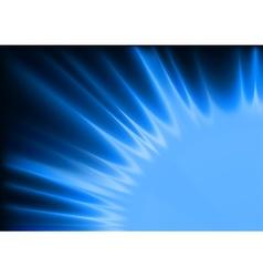 Blue flames vector