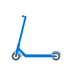 electric scooter simple icon sport symbol vector image