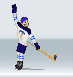 Finland ice hockey hockey player vector
