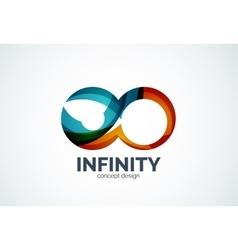 Infinity company logo icon vector