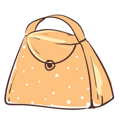 Orange 2 bag or color vector