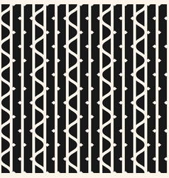 Seamless pattern with vertical lines wavy stripes vector