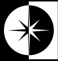 star retro star star background black vector image