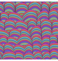 Abstract Hand-drawn Pattern Waves vector image vector image