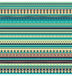 Colorful ethnic seamless pattern design vector image vector image