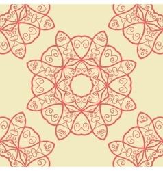 Seamless doodle print vector