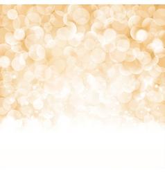 Bokeh Christmas background vector image