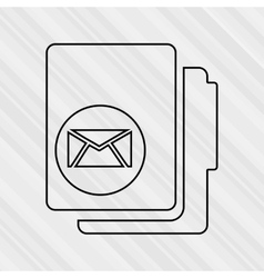 documents icon design vector image