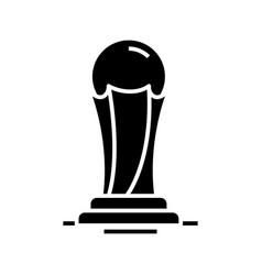 Olympic symbol black icon concept vector