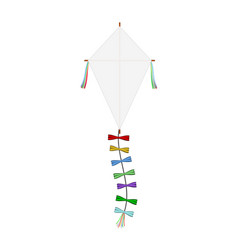 paper kite vector image