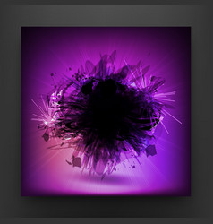 Purple Styled Background vector image