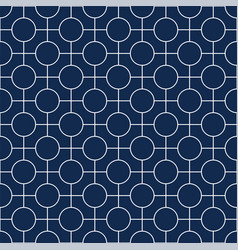 seamless geometric simple pattern vector image