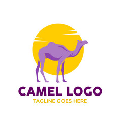 camel logo-18 vector image vector image