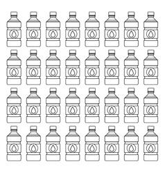 Fresh water drink vector image