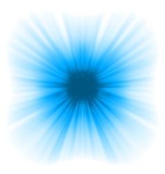 Abstract blue starburst vector