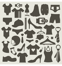Clothes3 vector image vector image