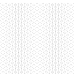 Gray isometric grid with vertical guideline on vector image