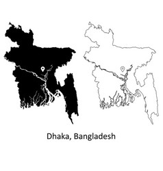 1021 dhaka bangladesh vector