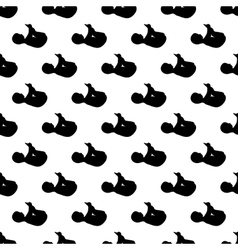Baby pattern seamless vector