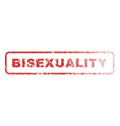 Bisexuality rubber stamp vector
