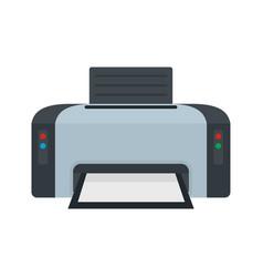 copier printer icon flat style vector image