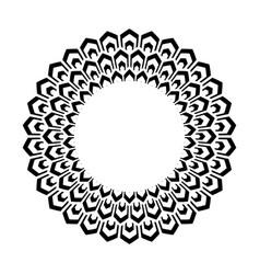 Decorative circle design vector