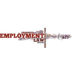 employment law unfair dismissal constructive vector image