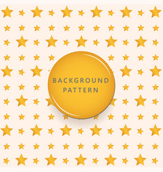 gold star textures pattern background vector image