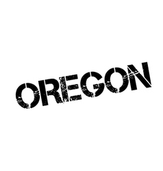 Oregon rubber stamp vector