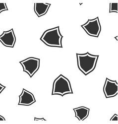 Shield protection seamless pattern background vector