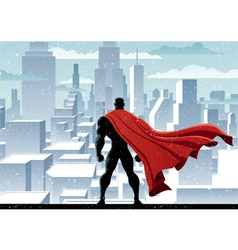 Superhero Watch vector image