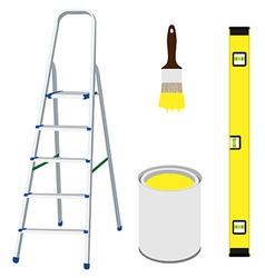 Work tools vector image