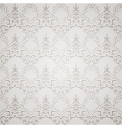 Gray victorian style vector