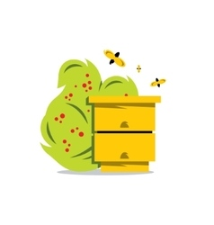 Hive Cartoon vector image