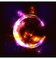 Hot ring vector