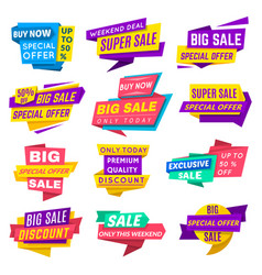 super sale banner vector image