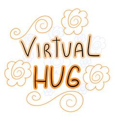 Virtual-hug vector