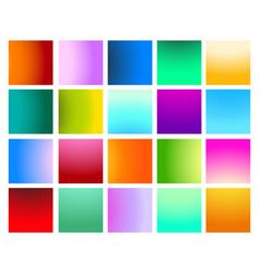Vivid gradient set vector