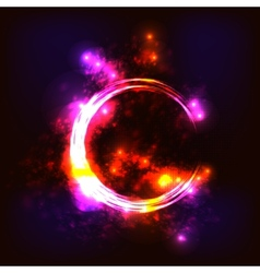 hot ring vector image