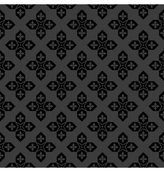 Arabic black and white pattern vector image vector image