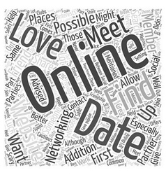 Social networking websites is it possible to find vector