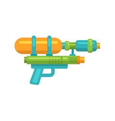 toy water gun flat icon vector image