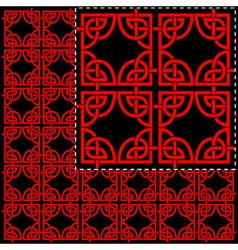 chinese wallpaper vector image vector image