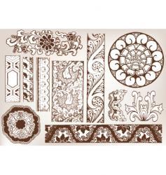 old school vector image vector image