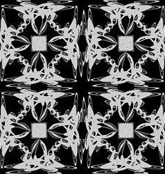 The pattern of monograms vector image vector image