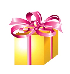 Wrapped Gift vector image vector image