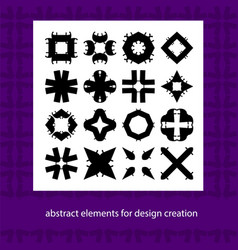 abstract elements for design ideas suits for vector image