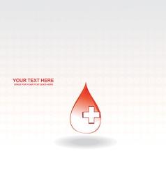 blood drop vector image