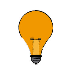 Bulb light creative idea thinking icon symbol vector